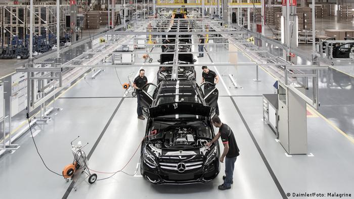 Fábrica da Mercedes-Benz no Brasil