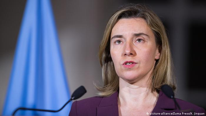 EU foreign policy chief calls on Turkey to respect human rights