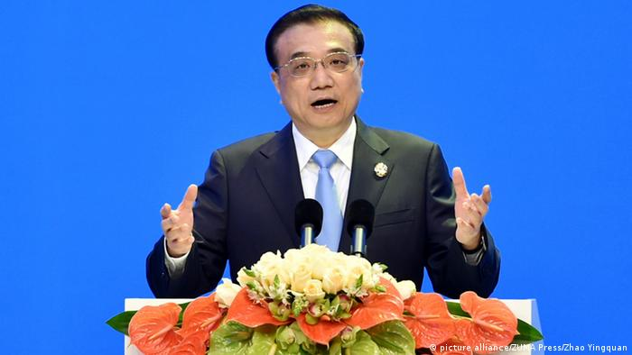 China Premier Li Keqiang in Boa