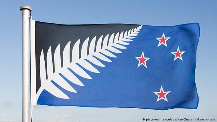 Neuseeland: neue Flagge (picture-alliance/dpa/New Zealand Government)