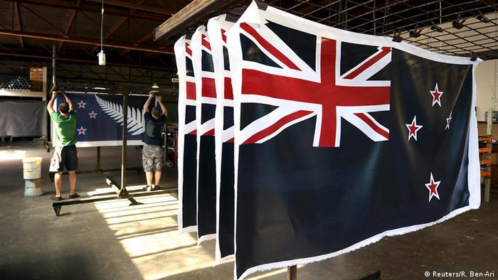 Neuseeland Referendum die alte Flagge bleibt (Reuters/R. Ben-Ari)