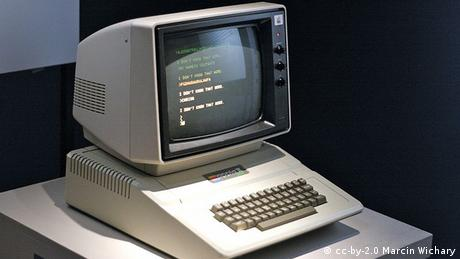 Der Apple II im New Yorker Museum Of The Moving Image
