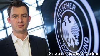 Hendrik Große Lefert Sicherheitsbeauftragter des Deutschen Fußball-Bundes