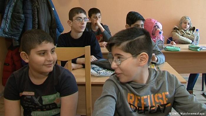 Школа для детей беженцев из Сирии в Ногинске