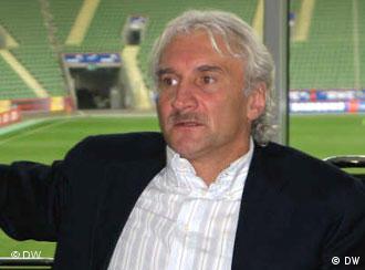 Rudi Völler, em entrevista à DW-WORLD