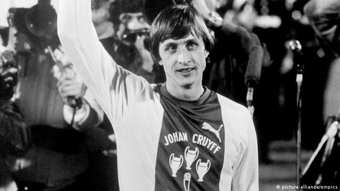 Johan Cruyff Ajax gegen Bayern in Amsterdam (picture-alliance/empics)