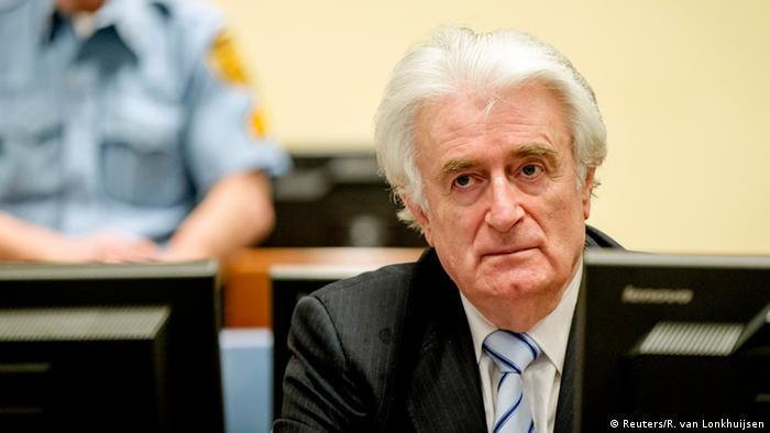 Niederlande Radovan Karadzic vor Gericht in den Haag