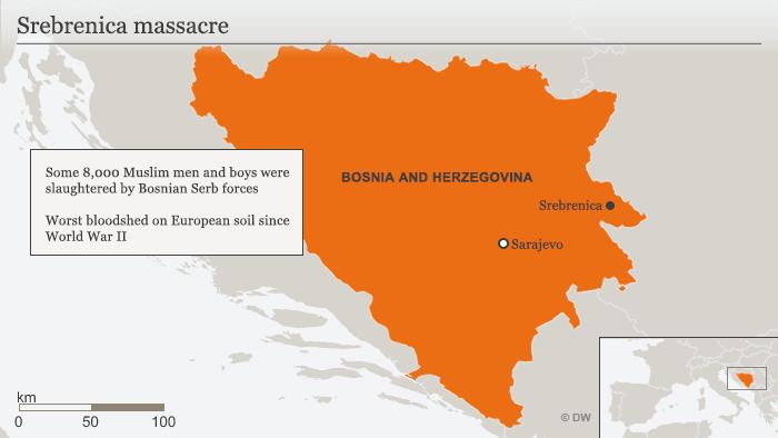 Srebrenica map