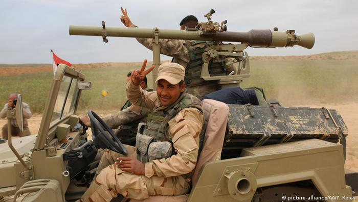 Mosul Irak und USA starten Offensive auf Mosul