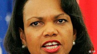 Condoleezza Rice in Libanon