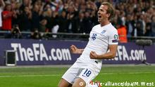 Fussball - Jubel Harry Kane
