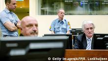 Den Haag - Radovan Karadzic