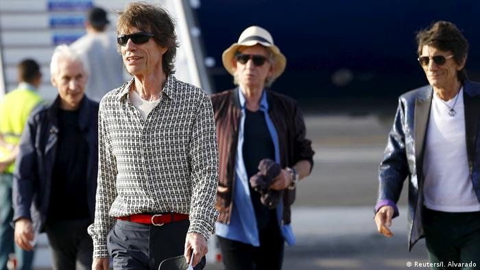 The Rolling Stones in Cuba (Reuters/I. Alvarado)