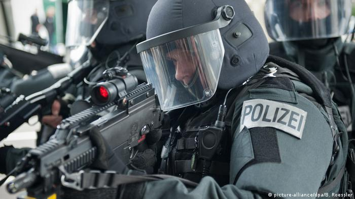 Special police task force officers
