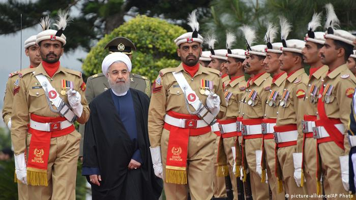 Iran Pakistan Hassan Rouhani zu Besuch in Islamabad