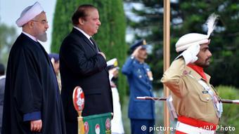 Iran Pakistan Hassan Rouhani zu Besuch in Islamabad