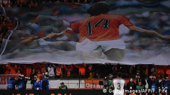 Fußball Freundschaftspiel Niederlande - Frankreich