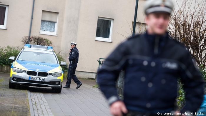Deutschland Düsseldorf - Festnahme Terrorverdächtiger Brüssel