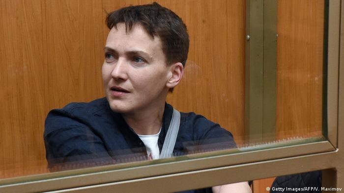 Russland Ukraine Urteil Nadija Sawtschenko Gericht in Donezk