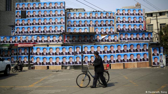 China - Plakate von Xi Jinping