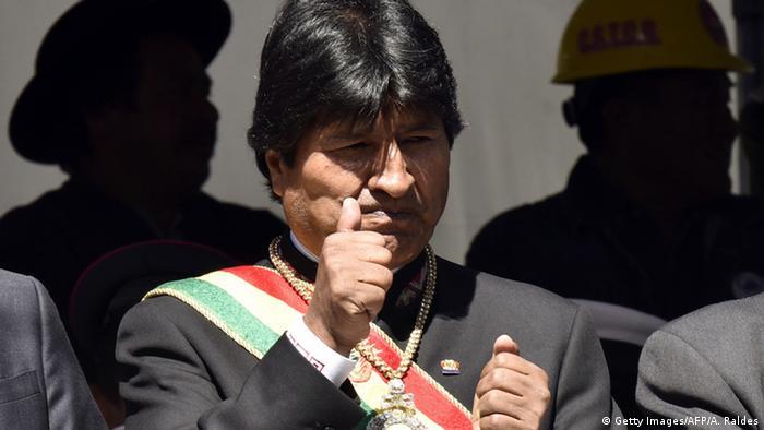 Bolivien - Evo Morales