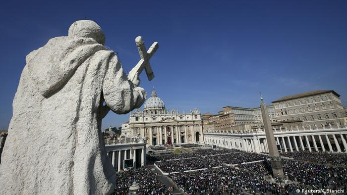 St Peter's Square in the Vatican