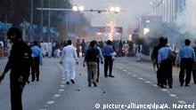 Pakistan - Proteste in Islamabad