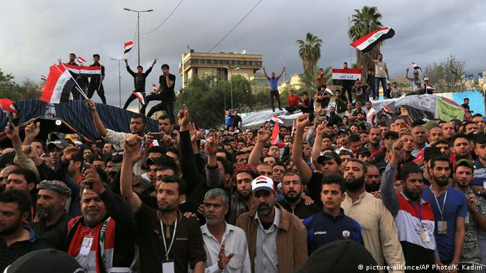 Thousands of al-Sadr's supporters continued their sit-in outside the Green Zone as the cleric entered the heavily-fortified area