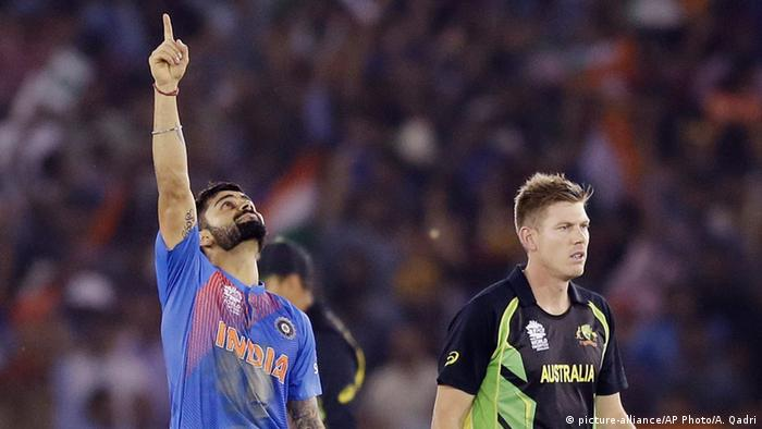 Indien Cricket Indien vs Australien Virat Kohli (picture-alliance/AP Photo/A. Qadri)