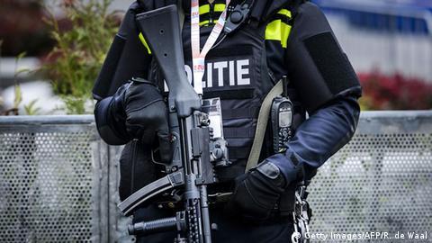 Niederlande Polizei Polizist