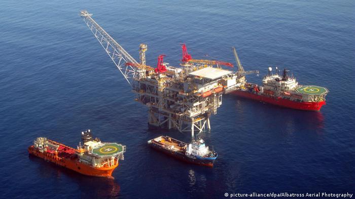 Газове родовище Тамар у Середземному морі (фото з архіву)