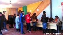 Datum: 27.03.2016 Wahlen in Krywyj Rih Ort: Krywyj Rih, Ukraine Tags: Ukraine, Kryvyj Rih, Krywyj Rih, Wahlen (c) DW/ Anastasia Magazova