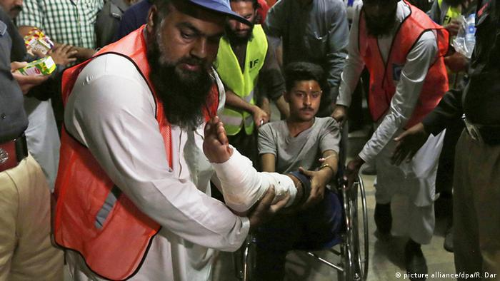 Lahore - Bombenanschlag auf Christen