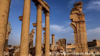 Palmyra Syrien UNESCO Welterbe (picture-alliance/dpa/V.Sharifulin)