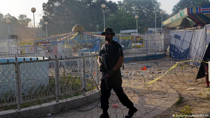 Paksitan Lahore Anschlag Kinderspielplatz Selbstmordattentat Polizei