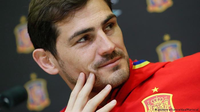 Iker Casillas Spanien Fußball Porträt (picture-alliance/dpa/Mariscal)