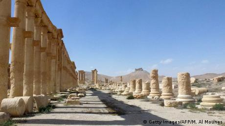 Säulenstraße in Palmyra, Foto: Getty Images