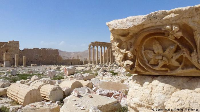 UNESCO World Heritage Site Palmyra in Syria, pictured in March 2016, Copyright: Getty Images/AFP/M. Al Mounes