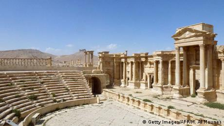 Amphitheater in Palmyra, Foto: Getty Images