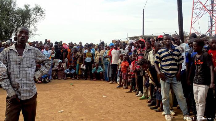 Flüchtlinge in Uganda willkommen