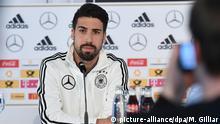 Sami Khedira PK Pressekonferenz Deutsche Fussball Nationalmannschaft