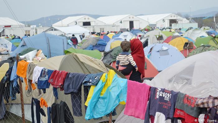 Griechenland Idomeni Flüchtlingscamp
