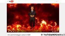 ***ACHTUNG: Bild nur zur aktuellen Berichterstattung verwenden!*** Quelle: https://www.youtube.com/watch?v=Grdb3zHnizo Rechte: YouTube/NDR/extra 3