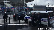 Frankreich Paris Fußball Sicherheitsvorkehrungen im Stade de France