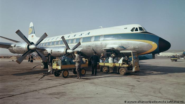 Lufthansa Vickers V-814 Viscount