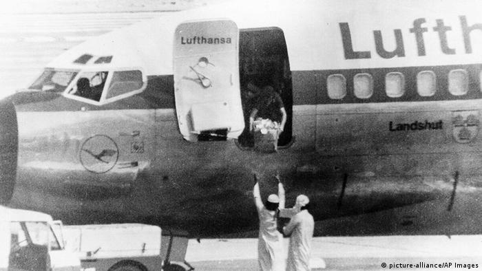 Entführung des Flugzeugs Landshut (picture-alliance/AP Images)