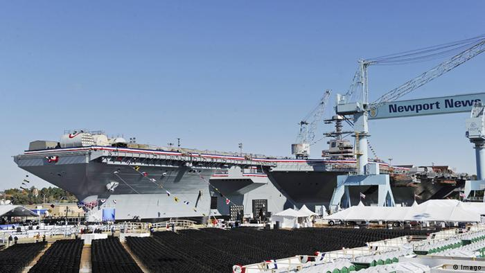 Flugzeugträger USS Gerald R. Ford (Imago)