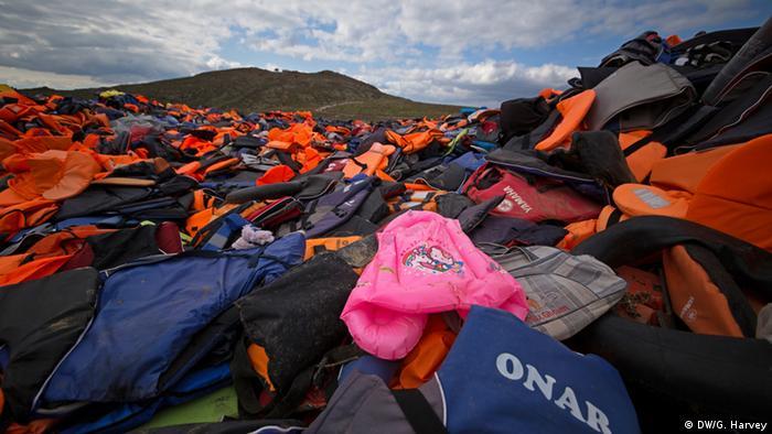 Griechenland Freiwillige Arbeit auf Lesbos