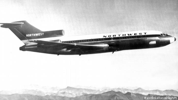 Flugzeug der amerikanischen Fluggesellschaft Northwest Airlines