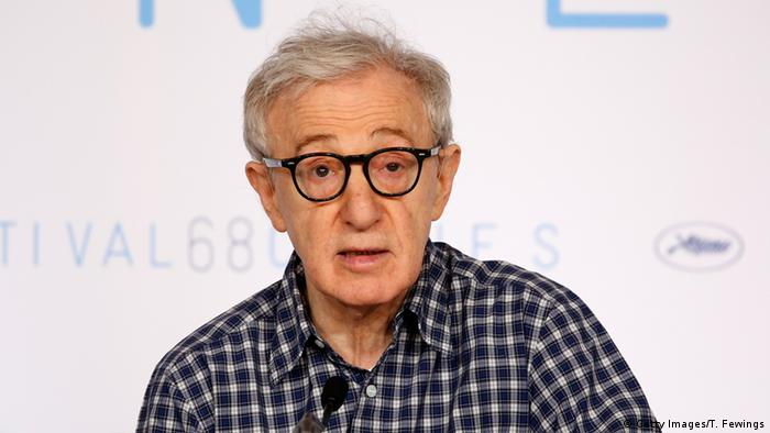 Woody Allen in Cabnnes 2015 (foto: Getty Images)